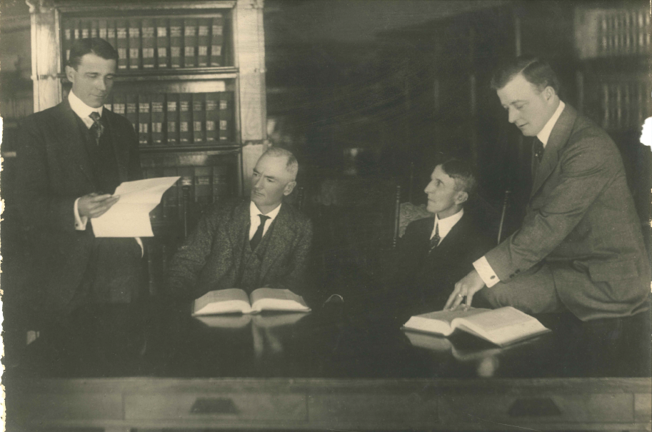 Historical image of previous partners, Anderson, Smith, Null & Stofer